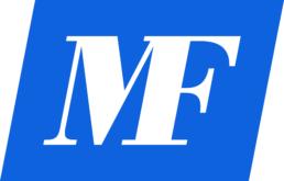 Logo Medifarma, monogramma m f
