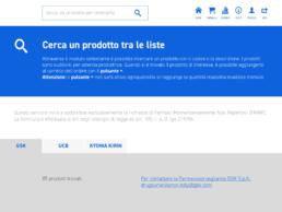 SOS Farmaco Ricerca dei prodotti